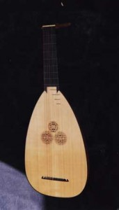 Baroque Bass Lute